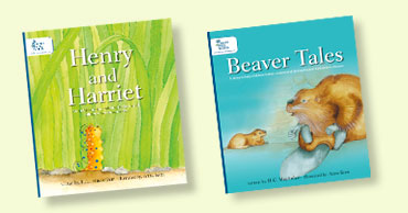 Cover images of Henry and Harriet and Beaver Tales